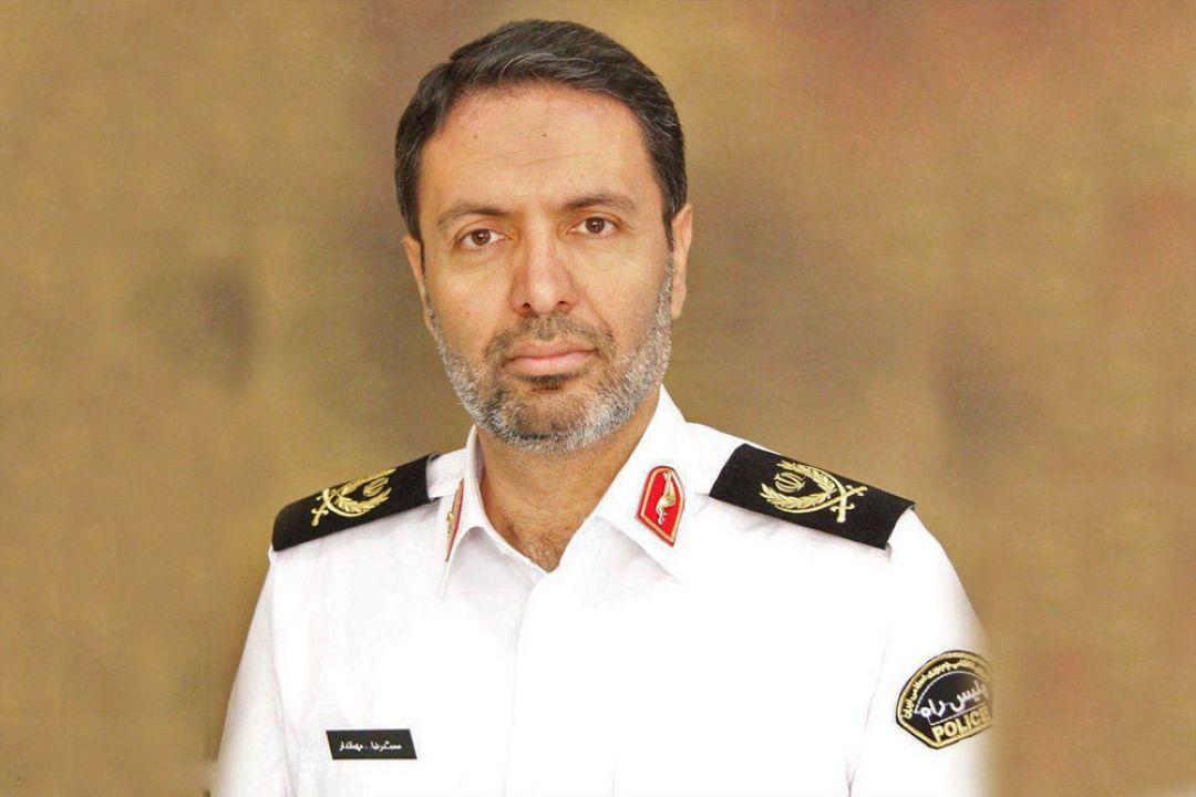 Image result for فرمانده پلیس راهور تهران